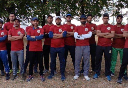 প্যারিসে রাইজিং স্টার ক্রিকেট টুর্ণামেন্টে জয় দিয়ে শুভ সূচনা করলো FC Aubervillers