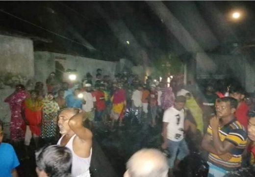 নারায়ণগঞ্জে মসজিদের এসি বিস্ফোরণ, বহু হাতহত