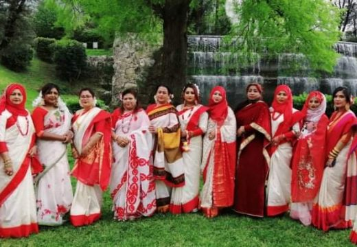 ইতালিতে প্রবাসী নারীদের আয়োজনে বৈশাখ উদযাপন