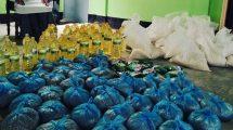 যুক্তরাষ্ট্র প্রবাসী আব্দুল হকের উদ্যোগে লামাকাজিতে দরিদ্র মানুষের মাঝে খাদ্য সামগ্রী বিতরণ