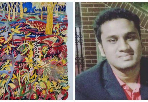 তানভীর আহমদ তোহা'র কবিতা 'মেঘের স্তুপ'