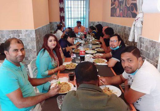 বাংলা টিভির ইউরোপ ব্যুরো প্রধান শাওন আহমেদের সাথে রোমে স্থানীয় সাংবাদিকদের মতবিনিময়