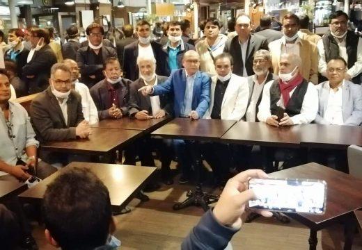 ফ্রান্স আওয়ামী লীগের কমিটি প্রত্যাখ্যান করে প্যারিসে প্রতিবাদ সমাবেশ অনুষ্ঠিত